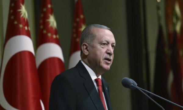 """أمام """"العدالة والتنمية"""" الذي فاز برئاسته.. أردوغان: سنواصل جهودنا حتى تصبح سوريا بلداً يديره أبناؤه"""