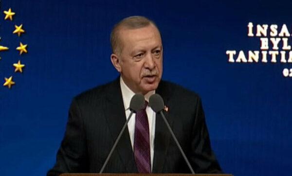 أردوغان: خطة لرفع معايير حقوق الإنسان في تركيا تتكون من 11 مبدأ أساسي