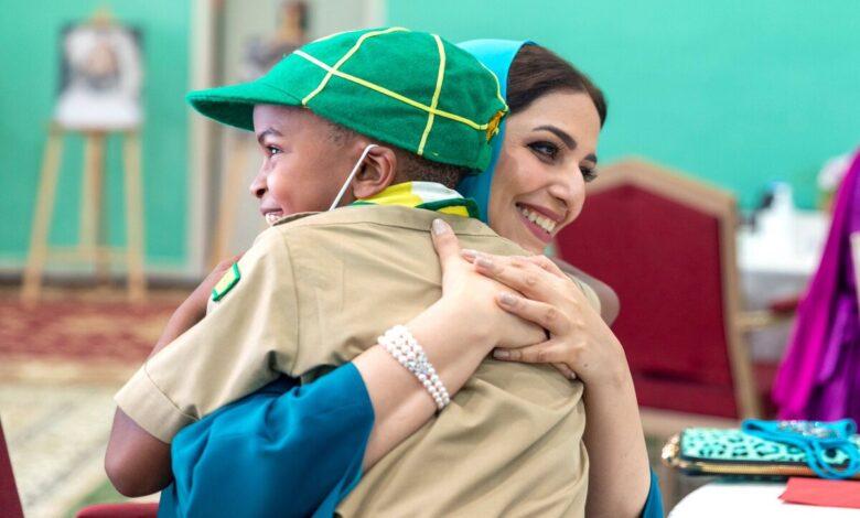 Photo of السيدة الجليلة ..زوجة سلطان عمان في إطلالة نادرة بمناسبة عيد الأم