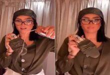 Photo of بدور البراهيم تخاطب إحداهن: لاتخليني أحطك براسي (فيديو)