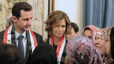 Photo of إصابة بشار الأسد وزوجته أسماء بفيروس كورونا