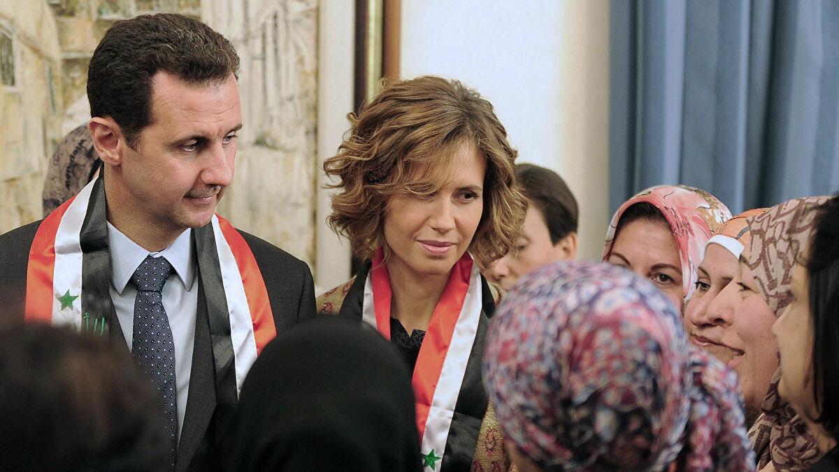 أسماء بشار الأسد
