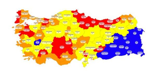 قرارات تركية جديدة بشأن التجوال والتدابير الصحية