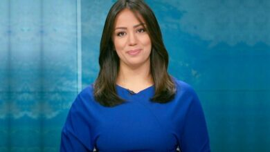 Photo of ابن إعلامية الجزيرة روعة أوجيه يضعها في موقف محرج أمام الآلاف من متابعيها