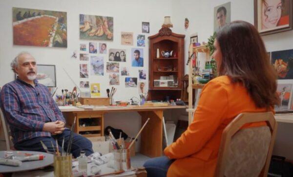 عبد الرزاق شبلوط.. فنان سوري ينتج أعمالاً فنية من الطراز الرفيع تحاكي واقع سوريا (فيديو)
