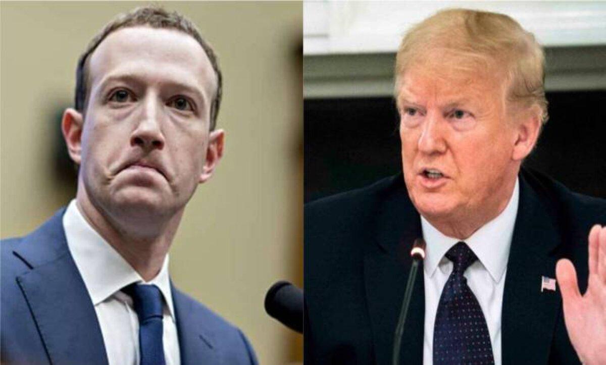 """خلال اجتماع مع غوغل وتويتر وفيسبوك حول أحداث الكونغرس.. """"مارك زوكربيرغ"""" يحمل ترامب المسؤولية"""