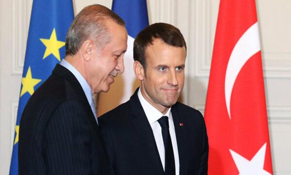 ماكرون: تركيا مهمة لاستضافتها اللاجئين وأخبرت أردوغان أن لامشكلة لدي مع الإسلام