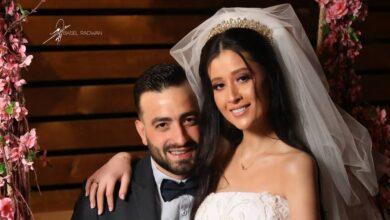 Photo of الصور الأولى من حفل زفاف الفنانة ربى السعدي شقيقة الفنانة روعة السعدي