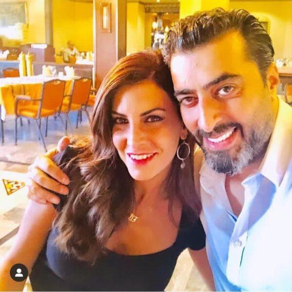 باسم ياخور وشقيقته داليا