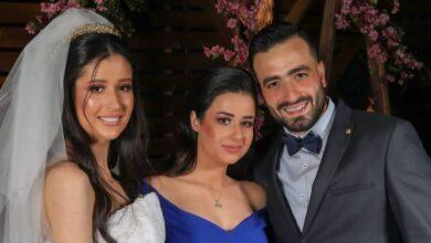 Photo of ربى السعدي تنشر صور حفل زفافها، وشقيقتها روعة متألقة بالأزرق (صور)