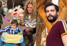 Photo of سامر إسماعيل يحتفل بعيد ميلاد ابنه الأصغر مع زوجته وابنه الأكبر (صور)