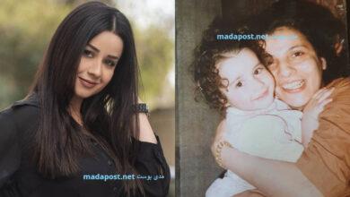 Photo of صورة من طفولة الفنانة روعة السعدي مع والدتها.. وستطل في رمضان بـ3 مسلسلات (صور)