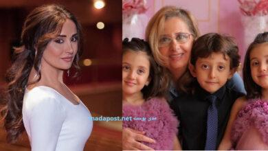 Photo of كندة حنا تنشر صورة والدتها مع أطفالها وتعايدها بعيد الأم (صور)