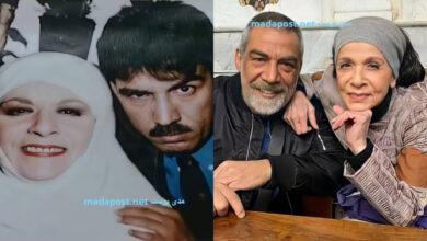 Photo of سامية الجزائري وأيمن رضا قبل 20 عامًا من كواليس 2ب2 (صور)