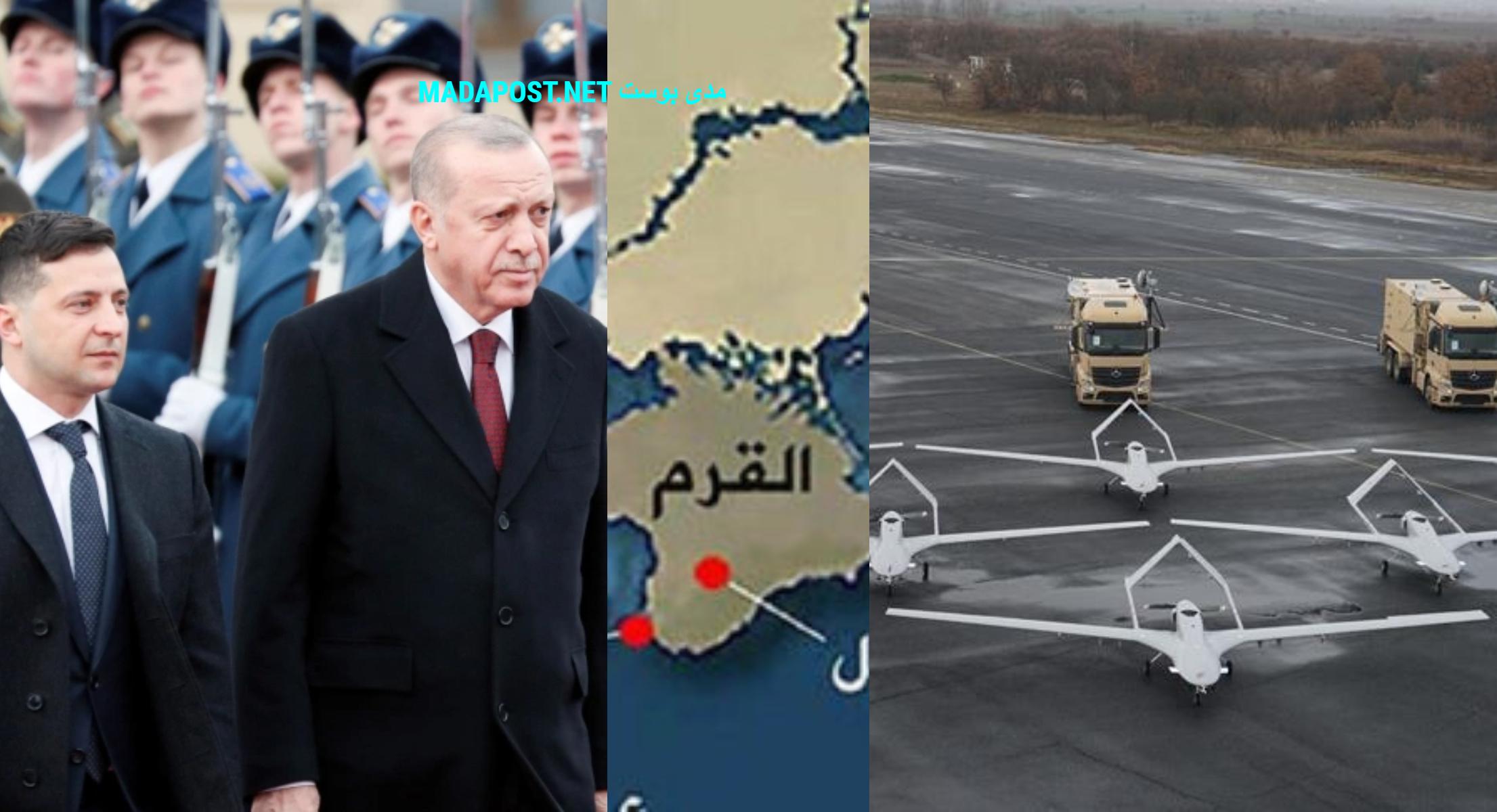 الرئيس التركي ونظيره الأوكراني يتباحثان حول القرم وطائرات بيرقدار