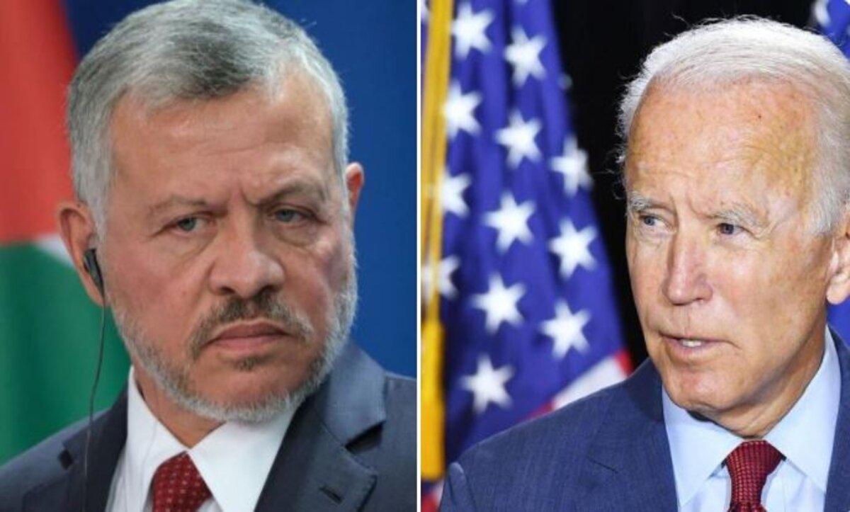 بايدن: أجريت اتصالاً بالعاهل الأردني لإبلاغه أن له صديقاً في الولايات المتحدة