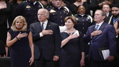 Photo of جورج بوش يتحدث عمن صوت له في الانتخابات الأمريكية: ليس ترامب ولا بايدن