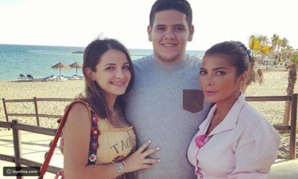 شام الذهبي ابنة أصالة نصري تعلن خطوبتها من رجل الأعمال المصري أحمد هلال