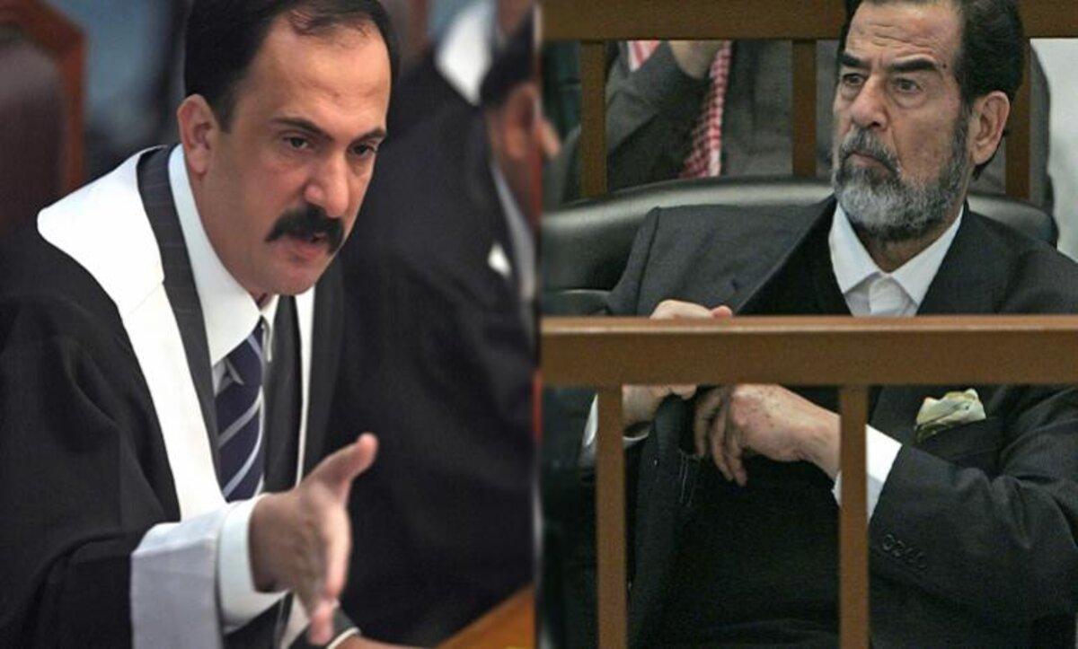 تلاسن مع الرئيس العراقي صدام حسين خلال محاكمته..قصة القاض الراحل محمد عريبي (فيديو)