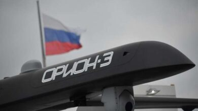 Photo of روسيا تبدأ إنتاج طائرات أوريون المسيرة بعد اختبارها في سوريا