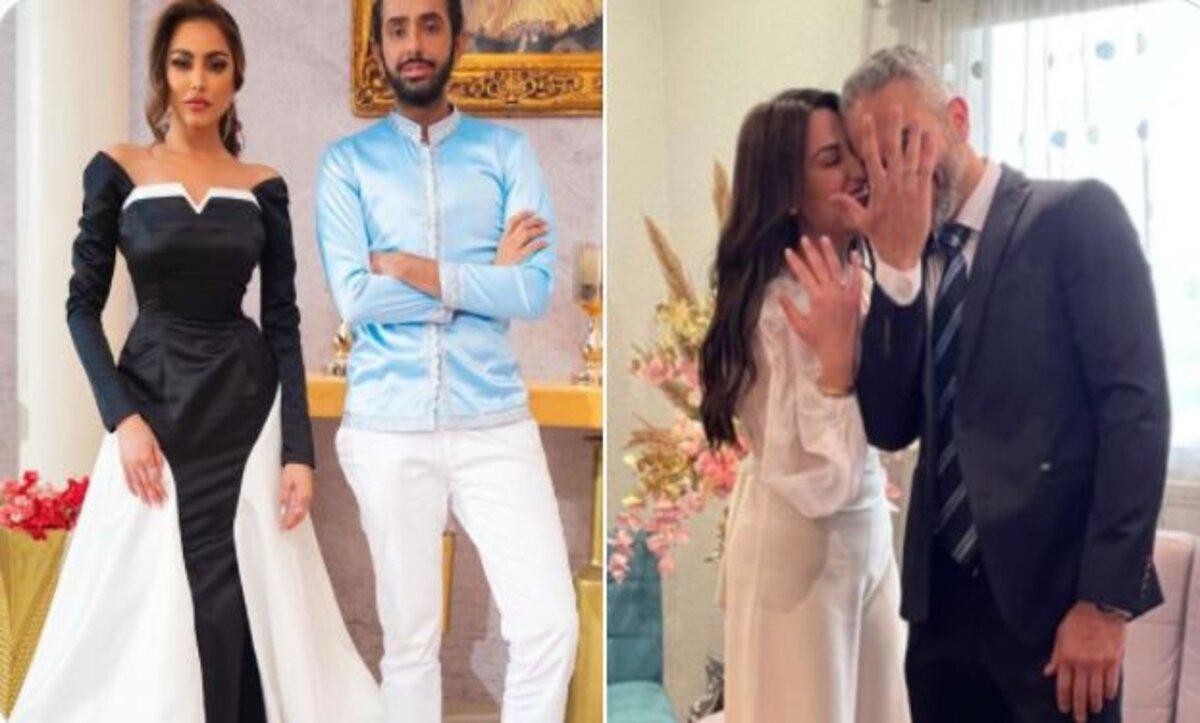 ارتباط فاطمة المؤمن حديث الكويت والفستان الأبيض يحير متابعيها بين الخطبة أو الزواج