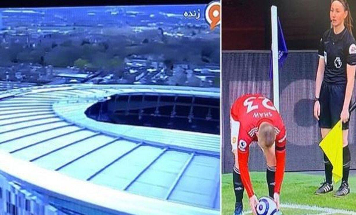 سيقان امرأة في الدوري الإنكليزي سبب إيقاف بث مشاهد مباراة لأكثر من 100 مرة على قناة إيرانية