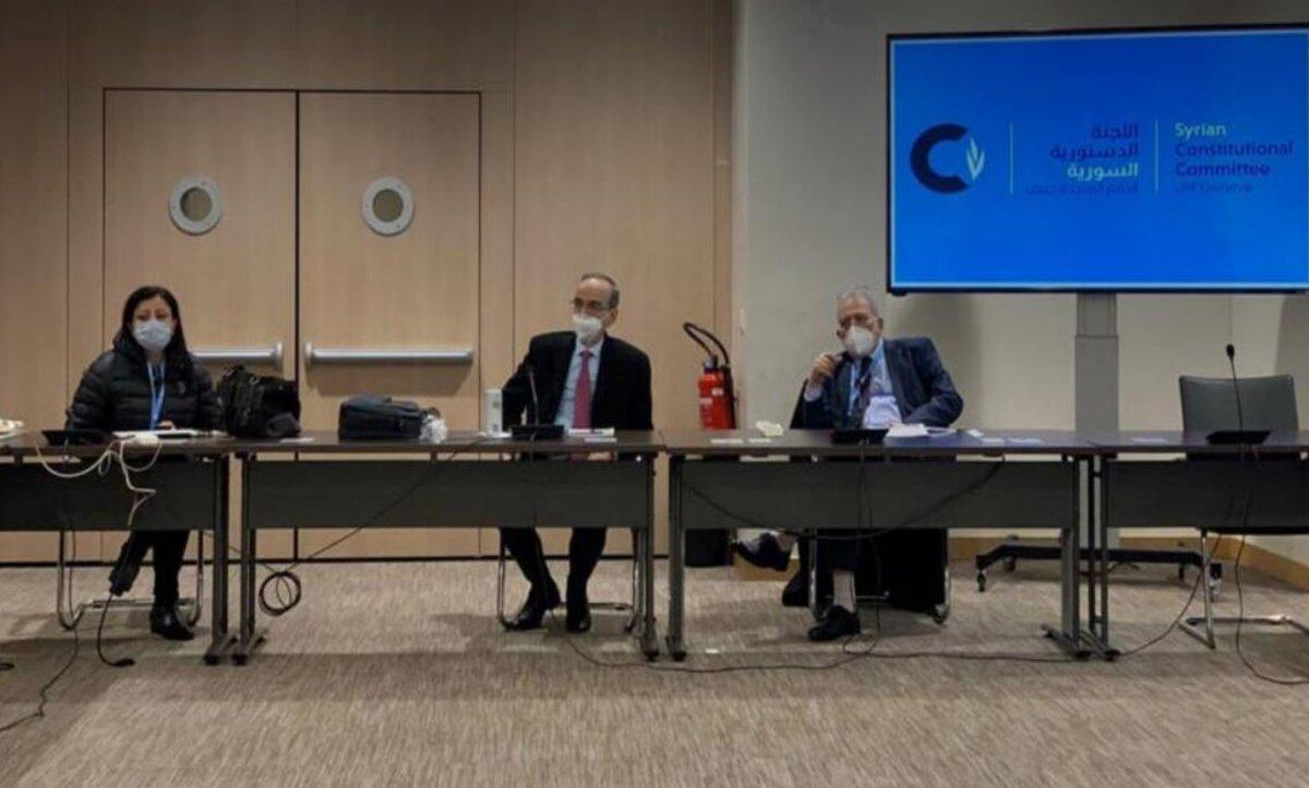 خمس خطوات لبدء جولة جديدة من محادثات اللجنة الدستورية السورية