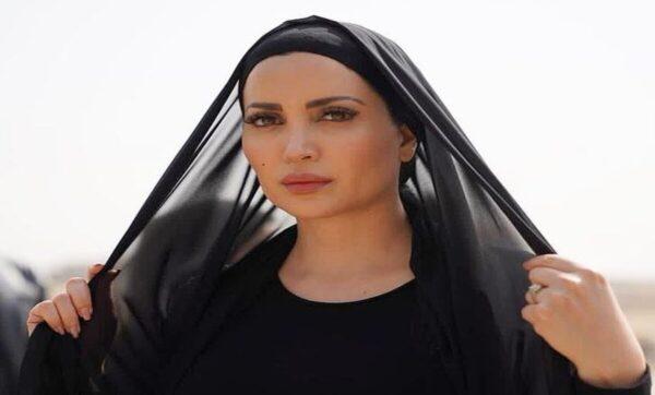 نسرين طافش مجدداً بالحجاب