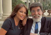 Photo of ليليا الأطرش برفقة ياسر العظمة في دبي وتعلق: مع الأستاذ والمعلم والتاريخ (صور)
