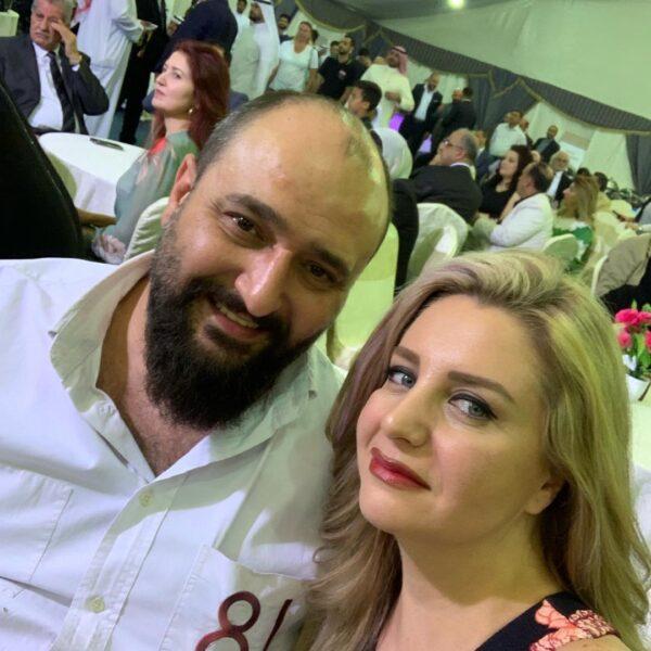 هيما إسماعيل وزوجها