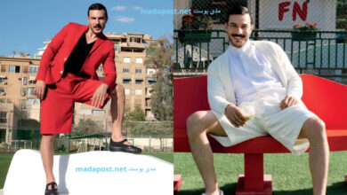 Photo of سخرية واسعة من باسل خياط بسبب إطلالته الأخيرة لمجلة شهيرة (صور)