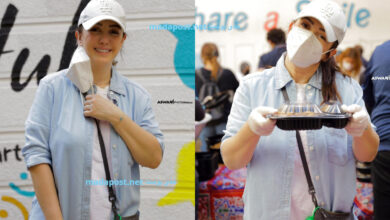 Photo of كندة علوش تشارك في يوم إطعام مع جمعية خيرية مصرية وتدعو متابعيها للمشاركة (صور)