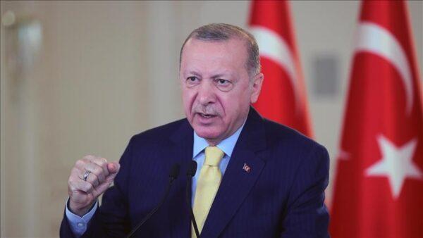 أردوغان يؤكد ثقته بتحقيق اقتصاد تركيا نمواً كبيراً في 2021