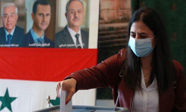 نتائج انتخابات الرئاسة في سوريا 2021