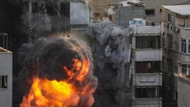 Photo of معلومات عن برج الجلاء الذي سوته إسرائيل بالأرض ورفضت الاستجابة لمالكه بإعطاء مهلة عشر دقائق (فيديو)