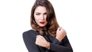 Photo of دانيلا رحمة بإطلالة رومانسية مع محمد الأحمد: حبينا نسلم عليكم أنا وهادي