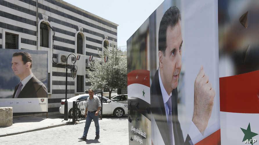"""حراك شعبي في لبنان لوقف """"مهزلة انتخابات الأسد"""" في بلادهم (فيديو)"""