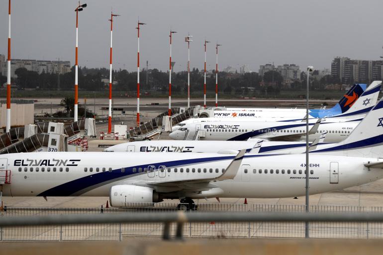 طائرة إسرائيلية تضطر لتأجيل رحلتها بعد منع السعودية العبور ضمن أجوائها
