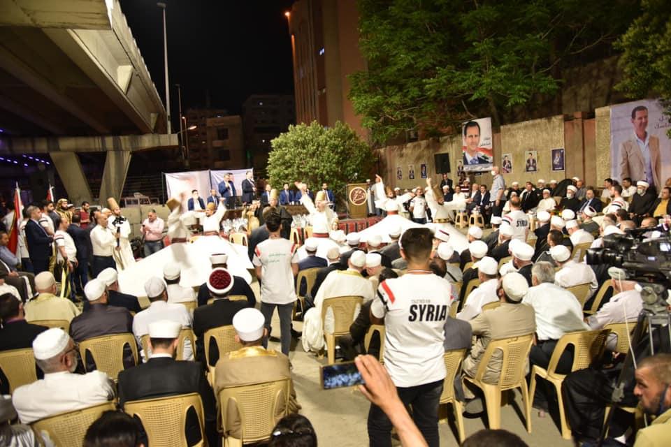 سوريا: الأسد يستعين بمجموعات دينية للترويج لنظامه و لانتخاباته الرئاسية