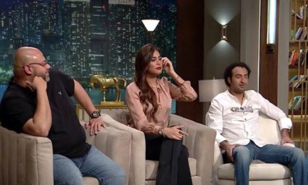 هاجر أحمد تغني وكريم حسين من أكثر الشخصيات التي تضحكها (فيديو)