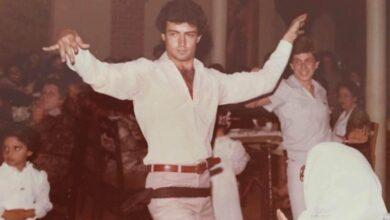 Photo of عدنان أبو الشامات في كواليس أول عمل له بعد عودته إلى سوريا (صورة)