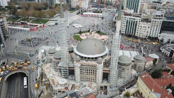 لن يتوقف الأذان فيه حتى قيام الساعة.. تصريحات لأردوغان عن مسجد تقسيم تعيد الحديث عنه كشخصية إسلامية عالمية
