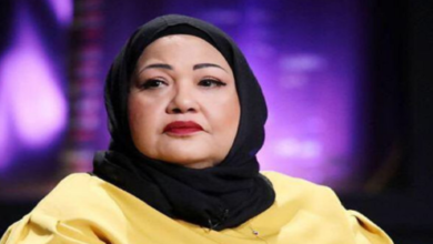 Photo of انتصار الشراح في اول ظهور لها بعد ازمتـ.ها الصحية مع محمد العجيمي