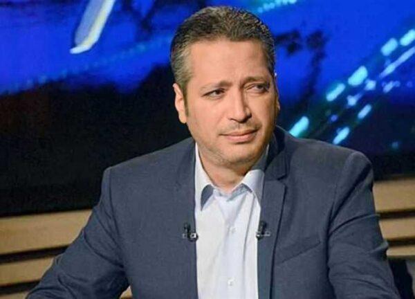 """بعد عودته للعمل.. تامر أمين يثير الجدل بسبب وصفه سمير غانم بـ""""أضحوكة مصر"""" (فيديو)"""