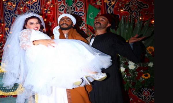 """أحمد سعد يحضر زفاف سمية الخشاب في مسلسل """"موسى"""" ويتصدر الترند على السوشيال ميديا"""