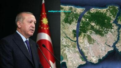 """Photo of حلم أردوغان يتحقق.. الرئيس التركي يضع حجر أساس """"مشروع العصر"""" ذو الـ 75 مليار..كل ما تريد معرفته عن قناة إسطنبول (صور – فيديو)"""