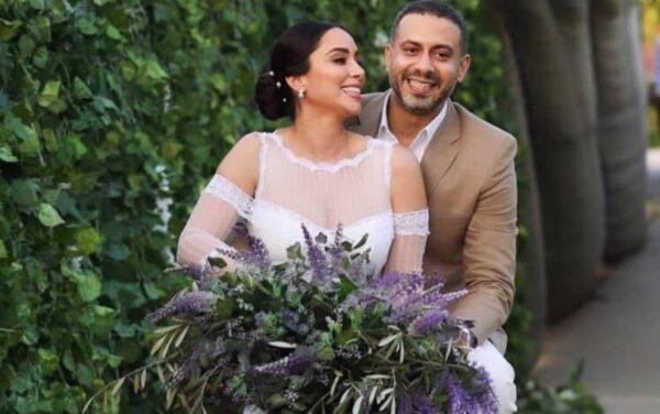 """محمد فراج في أول ظهور بعد زفافه : """"بشكر كل الناس اللى ساعدت فى إن أحلى يوم فى حياتى يطلع بالشكل ده"""""""