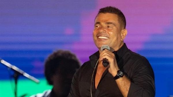 عمرو دياب أول فنان يقف على مسرح أكبر قبة في العالم في جدة