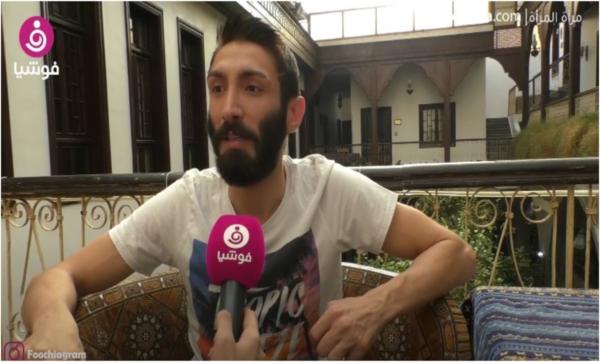 همام رضا: باحب الموسيقى كهواية لكن الأولوية للتمثيل ولا أفضل مشاركة حياتي الخاصة