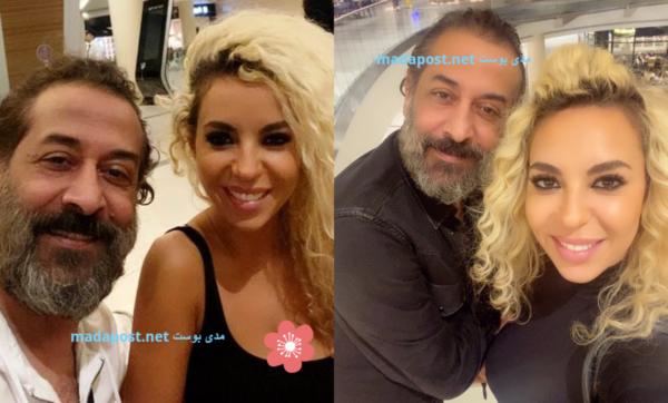 اللبنانية جوانا كركي توضح سبب نفي الفنان السوري عبد المنعم عمايري لشائعة ارتباطهما